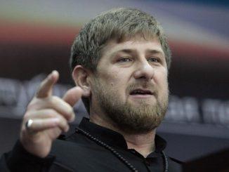Presidente da Chechênia Ramzan Kadyrov